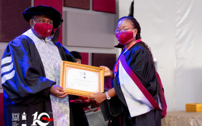 Accra Business School graduates 122, urges them to go out to impact society positively